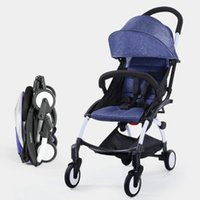 Wholesale Baby stroller children s trolley Baby umbrella car Aluminum Stroller One touch folding Simple and lightweight Shock absorber