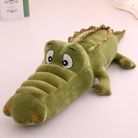 Wholesale 2016 newest popular fashion special soft and comfortable Cute cartoon flexible crocodile plush toys cost effective to send relatives and fri