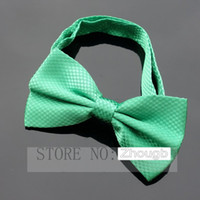 Bow Tie Men Polyester XMAS GIFT New arrival Men formal commercial bow tie wedding dress bow tie solid color bow tie