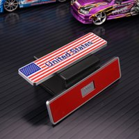 american flag car stickers - 1pcs Automobiles Motorcycles Exterior Accessories Car Stickers mm mm Stereoscopic American Flag ABS Car Sticker Car Decals Auto Pasters