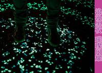 aquarium supplies wholesalers - Good quality Glow In The Dark Luminous Pebbles Artificial Stone Fish Tank Aquarium Decoration Acrylic Walkway Garden Supplies