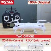 Wholesale Syma X5C Quadcopter Drone With Camera X5C or X5 rc helicopter without camera