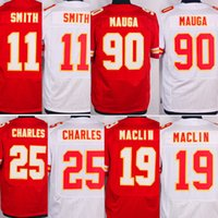 # 11 <b>Alex Smith</b> # 19 Joe Montana # 22 Marcus Peters Elite Jerseys