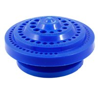 Wholesale MEOF Round Shape Plastic Hard Drill Bit Storage Case Blue