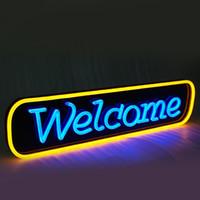 Wholesale Favorable Custom Design Neon Letter Popular Storefront Acrylic Sign neon letters cm
