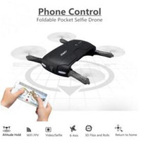 Le plus nouveau original JJRC H37 Gyro ELFIE WIFI FPV 720P HD de gyro à 6 axes RC Quadcopter Foldable G-capteur Drone d'ego de RC RM7429 VS H31