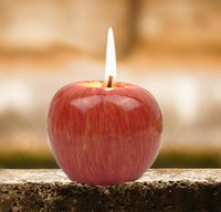 Wholesale Vintage Apple Candle Home Decor Christmas Candle Romantic Party Decorations Apple Scented Candles Birthday Wedding Decors