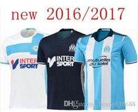 Wholesale Benwon Olympique de Marseille Soccer Jersey Batshuayi Gignac Maillot de Foot Payet Ocampos Lass Home Shirt Camisa Top Quality