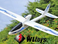 Wholesale Wltoys F959 Sky King CH RC Airplane Push speed glider Fixed Wing Plane RTF VS WLtoys F929 F939 F949