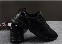 Wholesale 2016 New ZX Flux All Black White Red Blue Men s Casual Shoes Mesh Breathable Shoes Mens Shoes