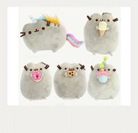 Wholesale 10PCS Different styles quot CM Pusheen Cookie Icecream Doughnut Cat Plush Stuffed Animal Doll Toy