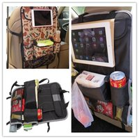 Wholesale Car Storage Bag Back Seat Hanging Collector Organizer Storage Multi Pocket Holder Bag free drop shipping
