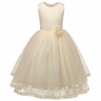 al por mayor niñas vestidos de cumpleaños-Niños Ropa Niña Ropa Niña Vestidos de Fiesta de Fiesta de Fiesta