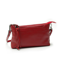 Wholesale women messenger bag pure genuine leather ladies shoulder bags candy color real leather mini bag Clutch Bag