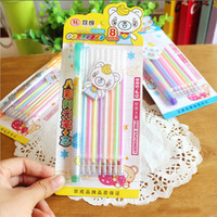 album refill - Pen Refill Set Watercolor Chalk Gel Pen Diy Decoration For Album Color Pens Set Korean Stationery School Suplies
