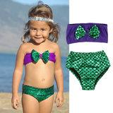 american girl bikini - Baby Girl Mermaid Set Bikini Toddler Girls Set Bikini Mermaid girls BIKINI Boutique Clothes toddler chic clothes