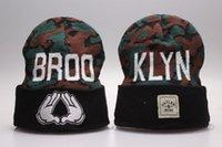 Cayler Sons Broo Klyn Beanie diseñador de moda cráneo TMT Beanies sombreros para los hombres de las mujeres invierno Beanie Pom Knit en blanco Hip Hop Slouchy Cap