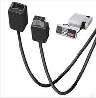 Precio de Extensión del controlador-2017 al por mayor-1.8m cable de extensión del controlador de 3 m alambre electrónico para Wii / Mini NES clásico controlador de la edición de la manija de la cuerda de extensión