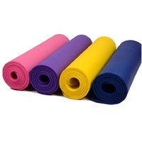 Wholesale 185CM mm Thickened NBR Yoga Mat Widened Multifunctional Sports and Fitness Protective Pads Pilates Mat Non Slip Gymnastics Mat