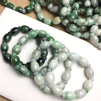 Wholesale Christmas retro practical creative emerald Beads Bracelet Bracelet Chain jade jade hand ornaments Color emerald green