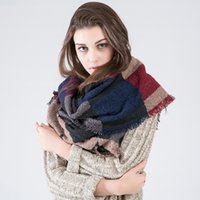 authentic scarf - Ms five pointed star lattice scarves scattered cashmere fashion wild authentic autumn and winter shawl