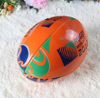 Wholesale pic High Quality PU Made American Football Balls for Racing Exercising Colors Adult Kids