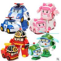 Wholesale Robocar Poli Toy Transformation Robot Car Toys Poli Robocar Korea Toys Best Gifts For Kids Pack