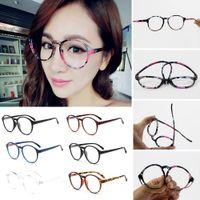 Venta al por mayor- gafas ópticas de marco de gafas de moda con cristales transparentes de los hombres de cristal de la vendimia de las mujeres transparentes transparentes