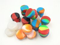 Wholesale 3mL mL mL Non Stick Wax Oil Multi Use Storage Jars Food Grade Silicone Dab Containers Set Wax Container
