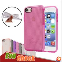 Wholesale Evo Check Case For Iphone s plus Tech Case Evo Mesh Impact Protection Case with TPU material with opp package