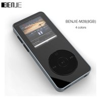 Wholesale Original BENJIE M28 Alloy MP3 Music Player with GB Inch Screen High Quality Lossless HiFi Voice Recorder FM Support TF Card