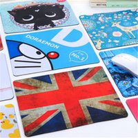 Wholesale Creative cartoon cute mouse pad thick green girls fine anti skid Korean fashion trend trumpet