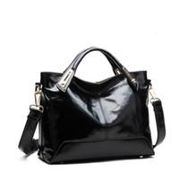Venta al por mayor-2016 nuevo mensajero de las mujeres de bolsos de moda PU bolso de cuero bolso de hombro portátil Crossbody Bolsas bolsas de cuero de mujer bolso grande