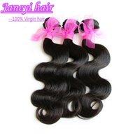Wholesale Peruvian Brazilian Malaysian Indian Silky Virgin Hair Body Wave Cheap Human Hair Weave Wavy Bundles Natural Black Remy Hair Extensions