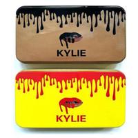 Wholesale 2017 Kylie Makeup Brush pieces Professional Makeup Brush set Kit Iron box DHL