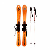 adult sleds - Christmas Gift wood material suitable for adults and children cm max loading kgs Snow Racer sled skis