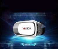 Wholesale 2016 New Google Cardboard VR Case III pro Version VR Virtual Reality Glasses Smart Bluetooth Wireless Mouse Remote Control Gamepad