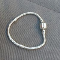 Wholesale Authenic Sterling silver cm cm Logo With Crown For Pandora Clasp Style Bracelet DIY Jewelry component