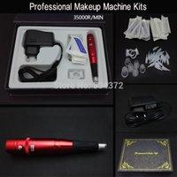 Wholesale Red R Eyebrow Lips Mackeup Pen Permanent Makeup Machine Kits