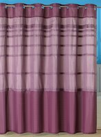 Wholesale Orleans Pintuck Polyester Shower Curtain with Grommets