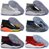 Wholesale Sneaker High Top China - Casual Shoes Hyperdunk 2016 Olympic wholesale Men Sneakers China High boots Top Meshs Green Casual Shoe Kids shoes Size 7-12