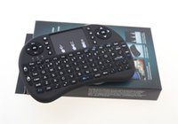 Wholesale Rii i8 Ghz Air Mouse Touchpad Wireless Mini Keyboard PC XBOX PS4 TV BOX SMART TV