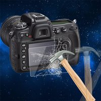 Wholesale 0 mm Camera Tempered Glass LCD Screen Panel Film Protector HD Guard Waterproof Cover For Nikon D300 D300S D90