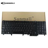 big layout - keyboard for dell d6520 e6530 e6540 Backlit keyboard E6520 US LAYOUT BIG ENTER