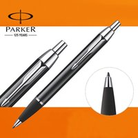 Notes art points - U Pick Parker IM Ballpoint Pen Silver Golden Clip Business Parker Ball point Pen Writing Office School
