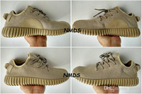 Cheap 2017 Original Adidas Shoes Yeezy 350 Boost Shoes Sports Oxford Tan Woman Running Shoes Men Kanye West Yzy 350 Yeezys Boosts Sneakers
