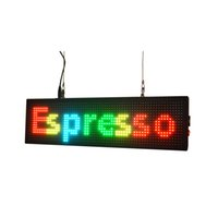 animation disks - 27 quot x7 quot Color Programmable LED SIGN U disk Change Animations Window SIGN