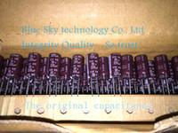 Wholesale uF V NIPPON KZE Series x15mm Low ESR V220uF Aluminum Electrolytic Capacitor