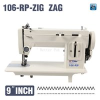 Wholesale 106 RPZ inch arm fur leather fell clothes thicken sewing machine reverse stich and ZIG ZAG function V for long version