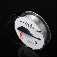 Wholesale 100 Metres Fishing line Outdoor fishing Super strong pull nylon Monofilament Line Cheap to high quality